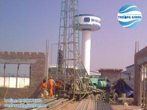 Khoan giếng công nghiệp khai thác nước ngầm