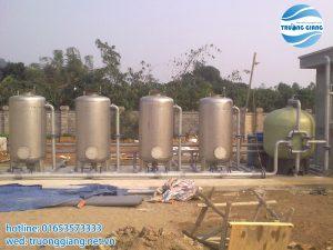 Hệ thống xử lý nước sông